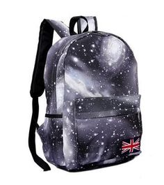 30faf1b17a 2017 Hot-selling NEW Harajuku skateboard dream starry sky women s backpack  preppy style schoolbag men s travel shoulder bag