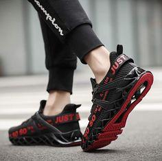 Coole Fitness Sport Schuhe mit kraftvoller Dämpfung, hochelastische Fersenunterstützung, Gleitschutz und bequem, so dass Sie sich voll und ganz von der Bewegung lösen können. Toller Sportschuh zum Joggen, Laufen, Walken, Wandern, Fitness oder als Freizeitschuh. Eigenschaften: Mix aus hochwertigem Mesh, gemütlich, atmungsaktiv, rutschfest und schnell trocknend. Fit für den Frühling, Sommer, Herbst und Winter. #Schuhe #Schuh #Sport #Sportschuh #Wandern #Walken #Fitness #Laufen #Jogging… Mens Walking Shoes, Athletic Fashion, Put On, Asics, New Balance, Unisex, Slip On, Running, Stylish