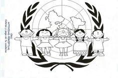 MANUALIDADES PARA EL 24 OCT. DIA DE LAS NACIONES UNIDAS