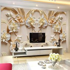 Best Latest 5D Wallpaper For Bedroom Living Room As Royal Decor 400 x 300