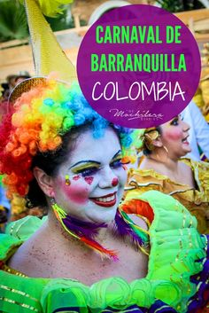 40 weird and wonderful photos from Carnaval de Barranquilla on Colombia's Caribbean coast, the world's second-largest Carnival.  If you're in Colombia during the month of February, don't miss this vibrant festival! | The Mochilera Diaries #worldfestivals #travel #SouthAmerica