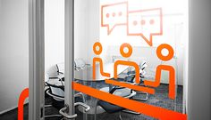 Lanit office signage system on Behance