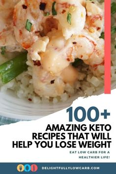 These low-carb and keto recipes will help you lose weight and get on track with a low-carb lifestyle that will lead to improved health and happiness. A low-carb diet doesn't have to be difficult. It's all about finding great recipes that you'll love to eat. Best Low Carb Recipes, Best Dinner Recipes, Great Recipes, Keto Recipes, Healthy Recipes, Keto Taco Salad, Low Calories, Low Carb Breakfast, Low Carb Diet