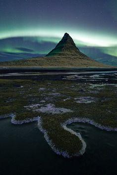 "sublim-ature: "" Kirkjufell, Iceland Antony Spencer """