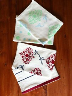 homemade holiday gifts: dish cloths