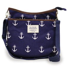 Sloane Ranger Large Crossbody Bag, Anchor
