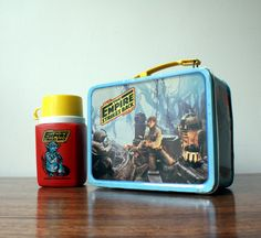 Of all my lunch boxes I ever had as child, my 1st grade lunch box of The Empire Strikes Back was, is my all time favorite