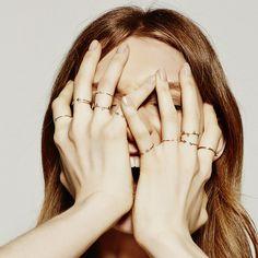 SARAH & SEBASTIAN rings (photograph by Michael Naumoff)