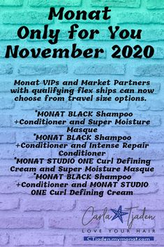 Thin Hair Tips, Frizzy Hair Tips, Monat Black Shampoo, Heatless Hairstyles, Love Your Hair, Instagram Bio, Boot Camp, Direct Sales, Shampoo And Conditioner
