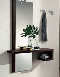 Awesome ideas for decorating the hallway with modern wall mirror designs, home interior wall mirror decor ideas for modern style apartments 2019 Hall Furniture, Home Decor Furniture, Furniture Design, Furniture Online, Interior Design Living Room, Living Room Decor, Bedroom Decor, Wall Decor, Hallway Decorating