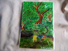 N.J's ArtPond: Grenadian post cards- Water color