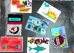 Word quilts