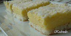 Pitypang-csakis kedvtelésből: Raffaelo-szelet Hungarian Recipes, Hungarian Food, Cornbread, Vanilla Cake, Cheesecake, Ethnic Recipes, Kuchen, Millet Bread, Hungarian Cuisine
