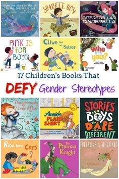 17 Children's Books About Gender Feminist Books for Kids is part of Multicultural books - These 17 children's books about gender identity defy stereotypes and show that there's no right way to be a girl or a boy Perfect for all young kids! Best Children Books, Childrens Books, Books For Kids, Toddler Books, All Kids, Good Books, My Books, Best Parenting Books, Parenting Advice