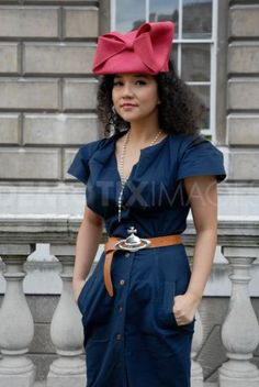 London Fashion Week attracts fashion enthusiasts. September 16th, 2012.