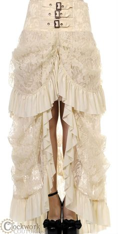 Can I pleeeeaaase go back in time and get this for my wedding? It's gorgeous and the corset top is killing me
