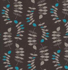 Leaves - Steel Gray / Valori Wells / Free Spirit / Jenaveve Linen