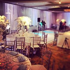 Artisans room all prettied up! #drwedding #naples #wedding