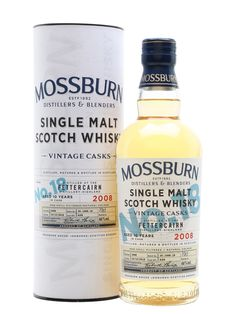 Royal Brackla 2008 - 10 Year Old -Vintage Casks -Mossburn Scotch Whisky : The Whisky Exchange 10 Year Old, 10 Years, Whisky Club, The Distillers, Alcohol Aesthetic, Spiritus, Single Malt Whisky, Scotch Whisky, Wine And Spirits