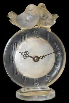 Antoinette is a special clock as its  hands are on the outside and can be moved to different positions.
