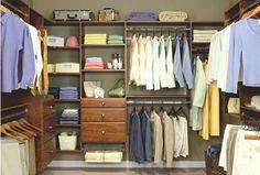 Traditional Men's Closet