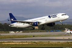 Airbus A321-211, Volar Airlines, EC-IMA, cn 1219, first flight 26.4.2000 (Virgin Atlantic Airways), Volar delivered 1.7.2003. Foto: Palma de Mallorca, Spain, 9.5.2004.