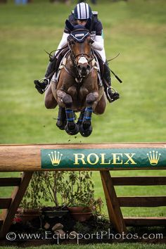 Rolex 3-Day Event '13 - EquiSportPhotos Lynn Symansky and Donner