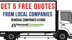 Removals Ilford | Removal Companies Ilford | Man and Van Ilford | Moving Company Ilford