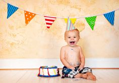happy birthday- cute first bday pic