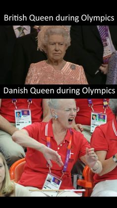 Queen Magrethe at her finest