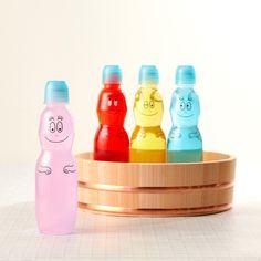 Japanese Design, Japanese Food, Packaging Design, Water Bottle, Drinks, Room, Character, Japan Design, Design Packaging
