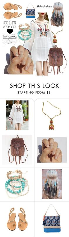 """""""Boho Fashion"""" by catthepunisher ❤ liked on Polyvore featuring SoGloss, Red Camel and Spartina 449"""