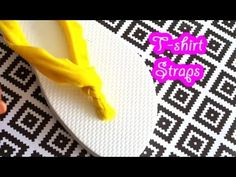 DIY Flip flops for Mom and daughter - By Tanya Memme As seen on Home and Family - YouTube