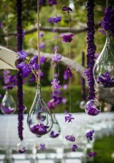 pantone- ultraviolet - 2018 wedding decor - danielafierrowp