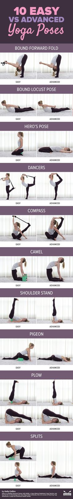 Whether you are new to yoga  or have years of experience under your belt, there is always room for  growth. Watching your flexibility and strength increase is an amazing  benefit of yoga that can keep you coming back for more, and these yoga  modifications will help you make the transition that much easier. read the full article here: http://paleo.co/yogamodifications