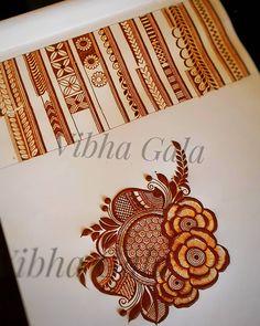 No photo description available. Traditional Mehndi Designs, Floral Henna Designs, Beginner Henna Designs, Simple Arabic Mehndi Designs, Henna Art Designs, Mehndi Designs 2018, Mehndi Designs For Girls, Modern Mehndi Designs, Dulhan Mehndi Designs