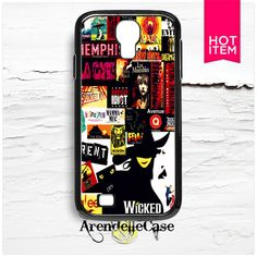 Music Broadway Wicked Samsung Galaxy S4 Case