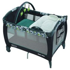 Graco Pack 'n Play Playard with Reversible Napper and Changer Bassinet, Boden