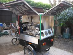 Caffe Mobile Coffee Trike | Flickr - Photo Sharing!