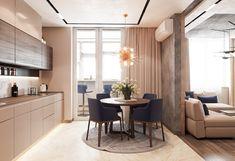 Interior Design,Visual Effects Kitchen Room Design, Modern Kitchen Design, Living Room Kitchen, Home Decor Kitchen, Interior Design Kitchen, Küchen Design, House Design, Modern Kitchen Interiors, Apartment Interior