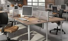 Global Furniture Group offers a variety of modular bench systems and desk privacy panels. Customize your office and design a great place to work. Global Office Furniture, Privacy Panels, Great Place To Work, Office Desk, Corner Desk, Tables, Bench, Design, Home Decor