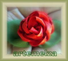 Vire - Art and Craft: Open Satin Rose.