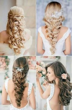 Weddings - Hairstyles...we ♥ this! moncheribridals.com