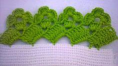 Вязание крючком Урок 275 Кайма Crochet lace - YouTube