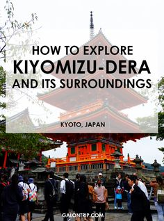 Make sure you don't miss the best spots in Kiyomizu-dera Temple complex in Kyoto, Japan. Remember, there are several places apart from the main temple you can visit. Check the ultimate guide in my post! Kiyomizu Temple, Kyoto Itinerary, Japan Travel Guide, Kyoto Japan, Outdoor Travel, Where To Go, Cool Places To Visit, Asia, Vacation