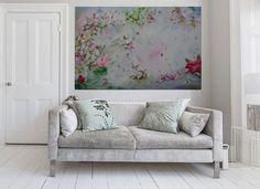 Alegrando Espacios  Cuadros de autor  Acrílicos sobre lienzo Floral painting