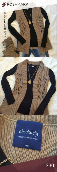 Absolutely Creative Worldwide - Sweater Vest Fabulous Vest, dress it up or down...either way it's beautiful! Creative Worldwide Jackets & Coats Vests