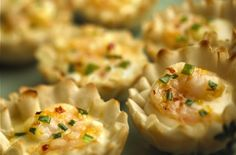 Foodista | Recipes, Cooking Tips, and Food News | Alouette Crème De Brie Shrimp Cups