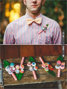 button boutonniere by RBK Creations   CHECK OUT MORE IDEAS AT WEDDINGPINS.NET   #bridesmaids