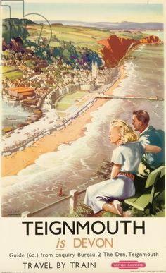 Teignmouth is Devon - GCR poster